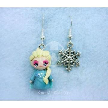 Elsa & copo de nieve