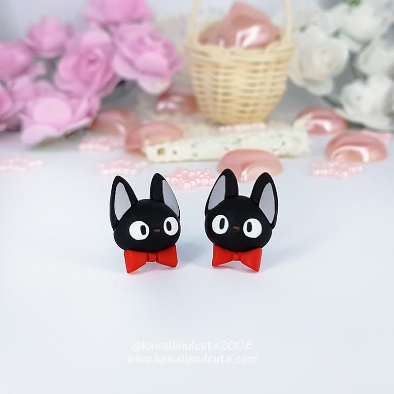 Cat Red Ribbon