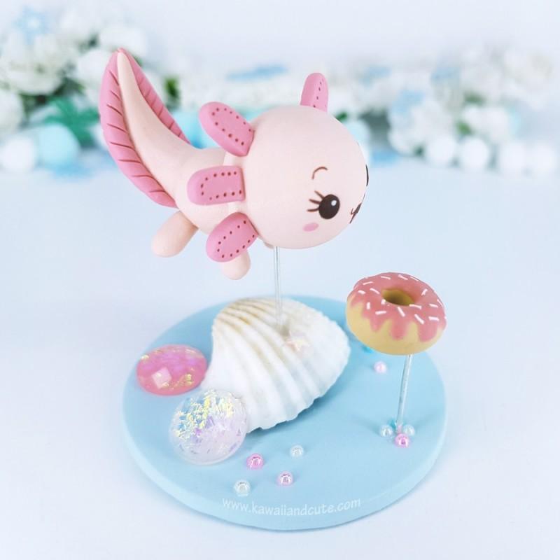 Axolotl love Donuts