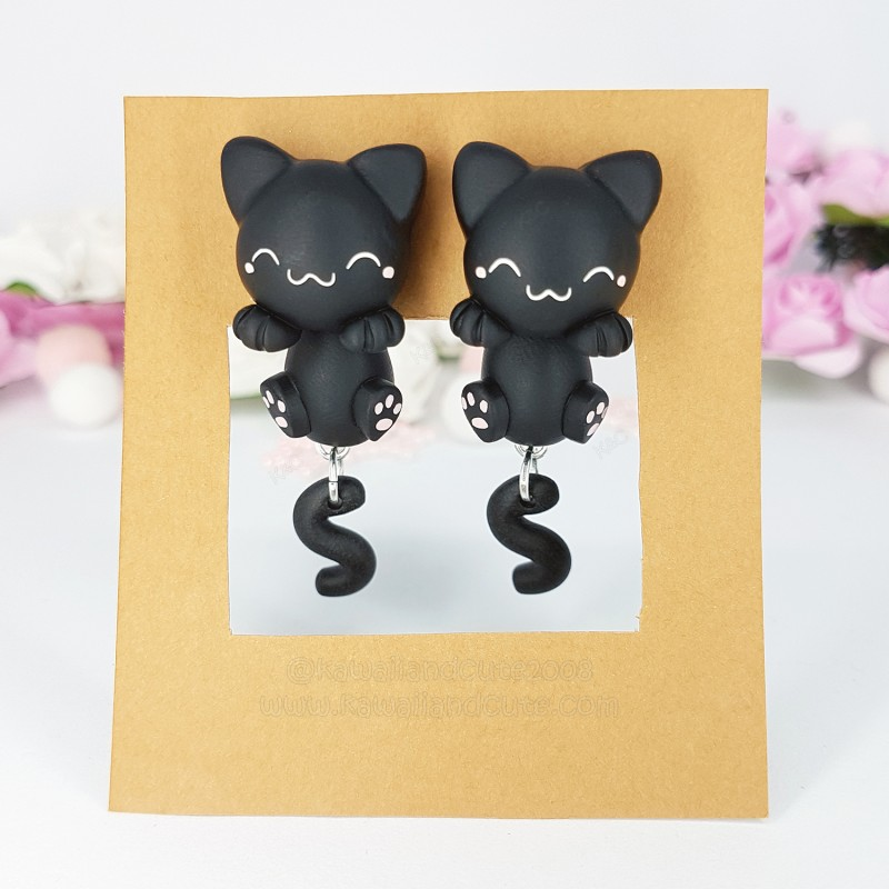 Black Cat Clinging Ears