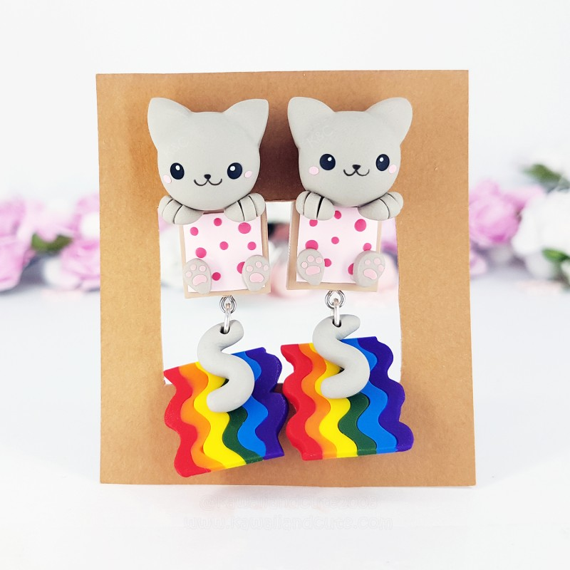 Nyan Cat Clinging Ears