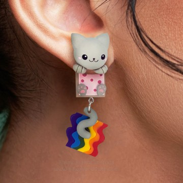 Nyan Cat Clinging Ears