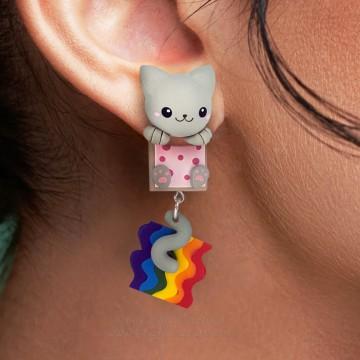 Nyan Cat Cuelga Orejas