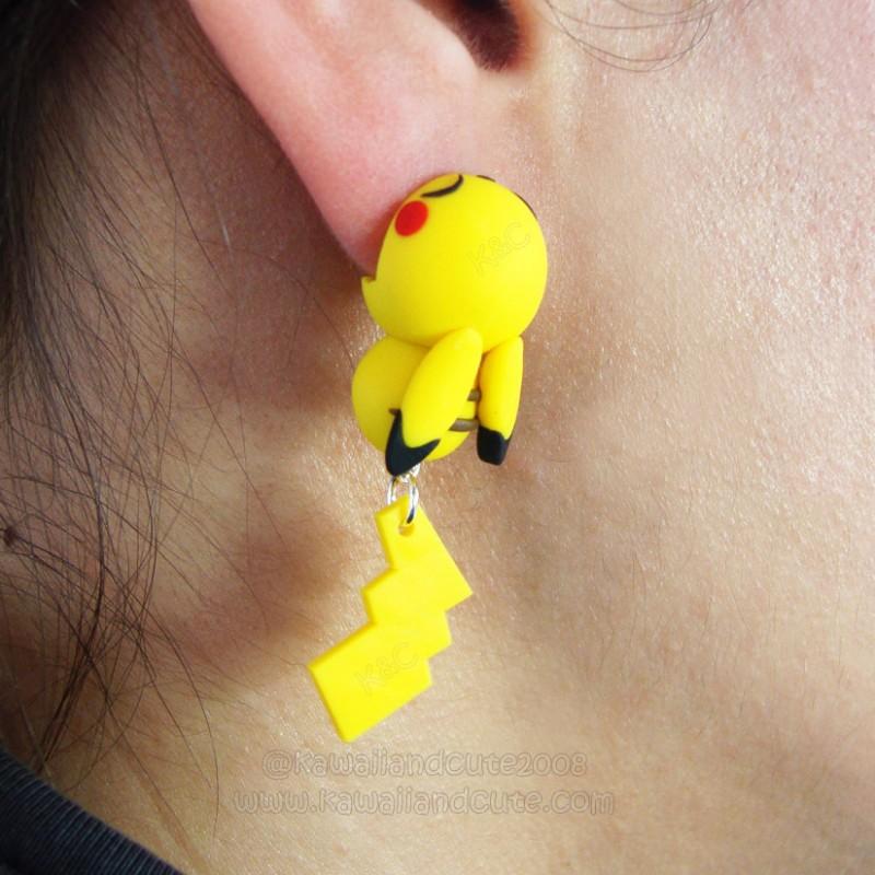 Pikachu Bite Ears