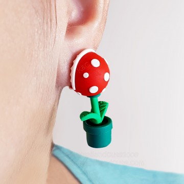 Piranha Plant  Bite Ears