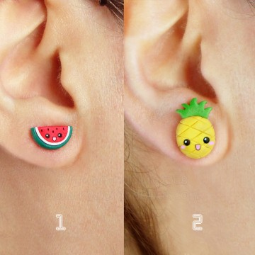 Kawaii Tropical Fruits