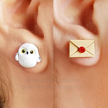 Owl + letter