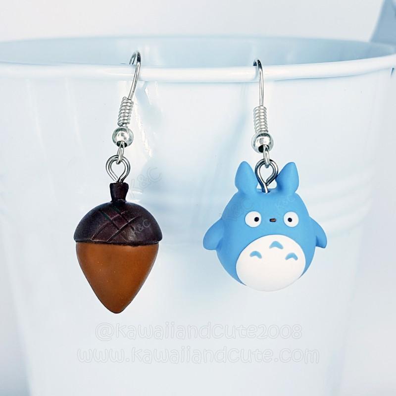 Blue Totoro & Acorn
