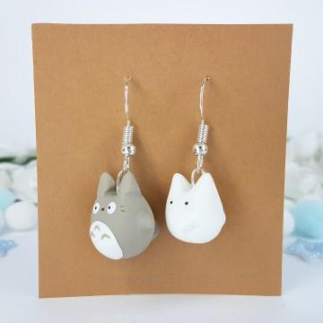 Grey Totoro & White Totoro