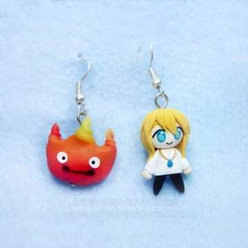 Calcifer & Howl