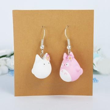 Pink Totoro & White Totoro