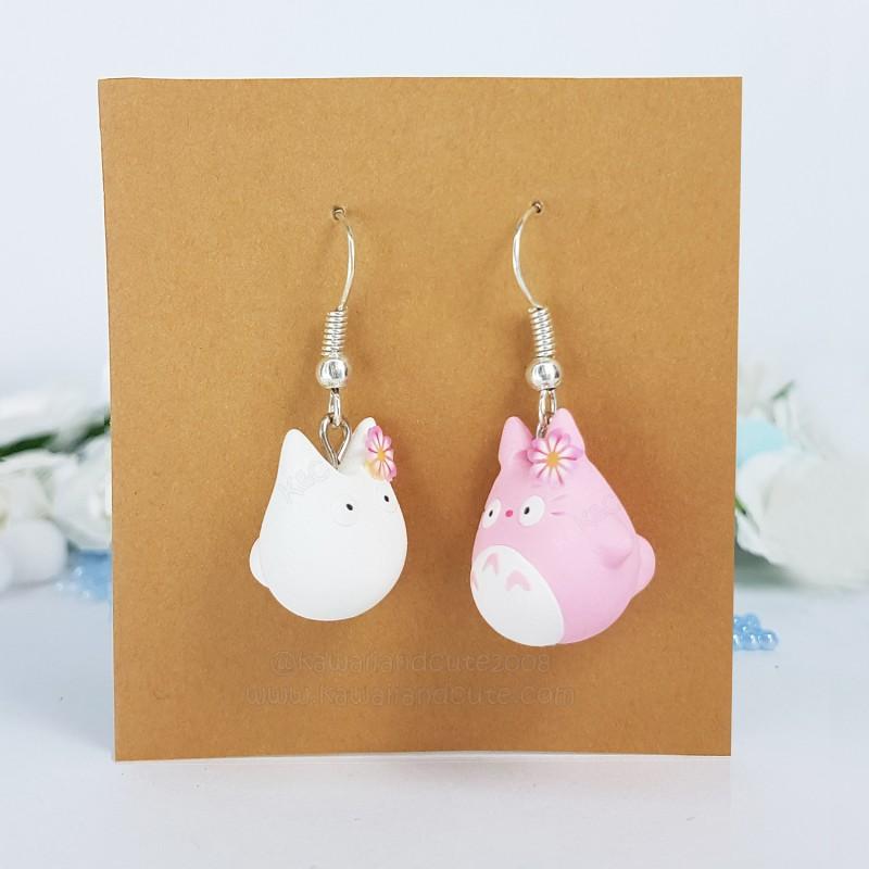 Totoro rosa & Totoro blanco