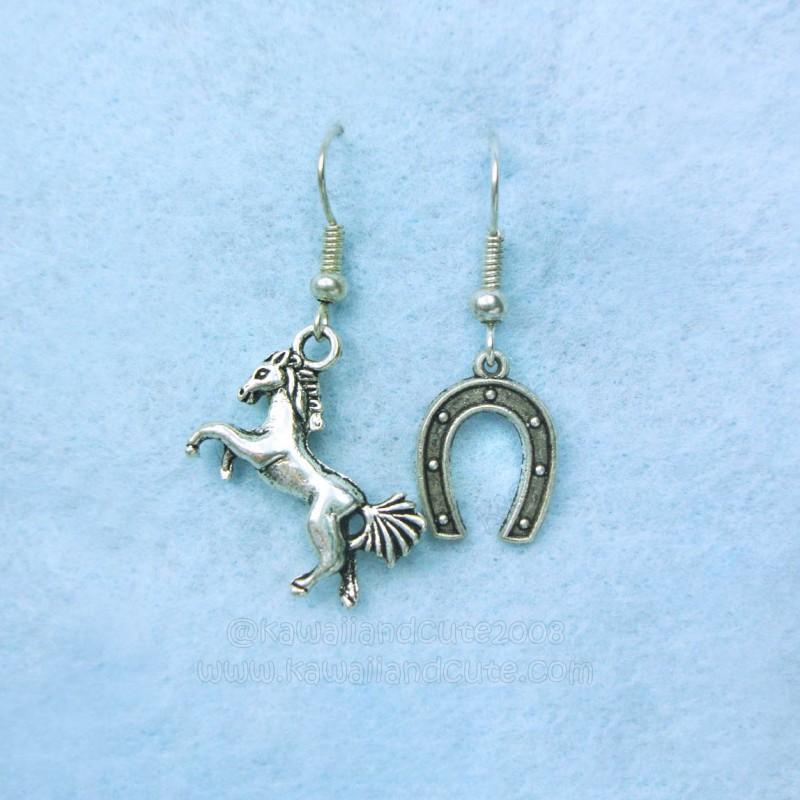 Horse and horseshoe