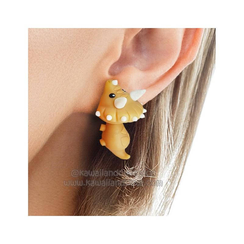 Triceratops bite ears