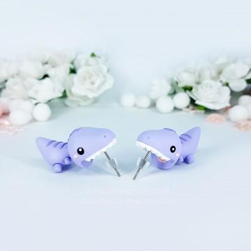 Lilac Dinosaur biteears