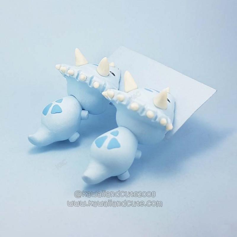 Light blue Triceratops