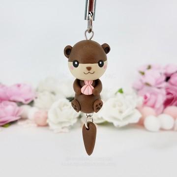 Kawaii Otter keychain
